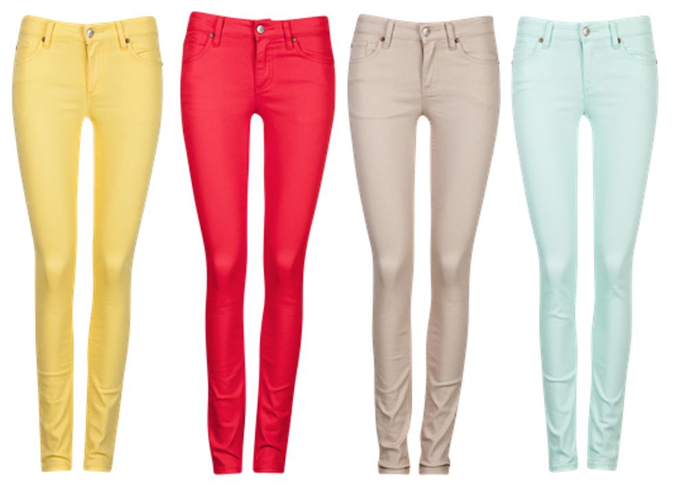 Color Pants u2013 In A Secret Relationship With Fashion u0026 Beauty